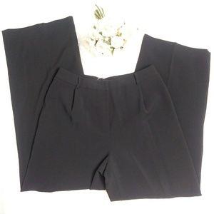 ANN TAYLOR Black Wide Leg Trouser Pants NWT Sz 10